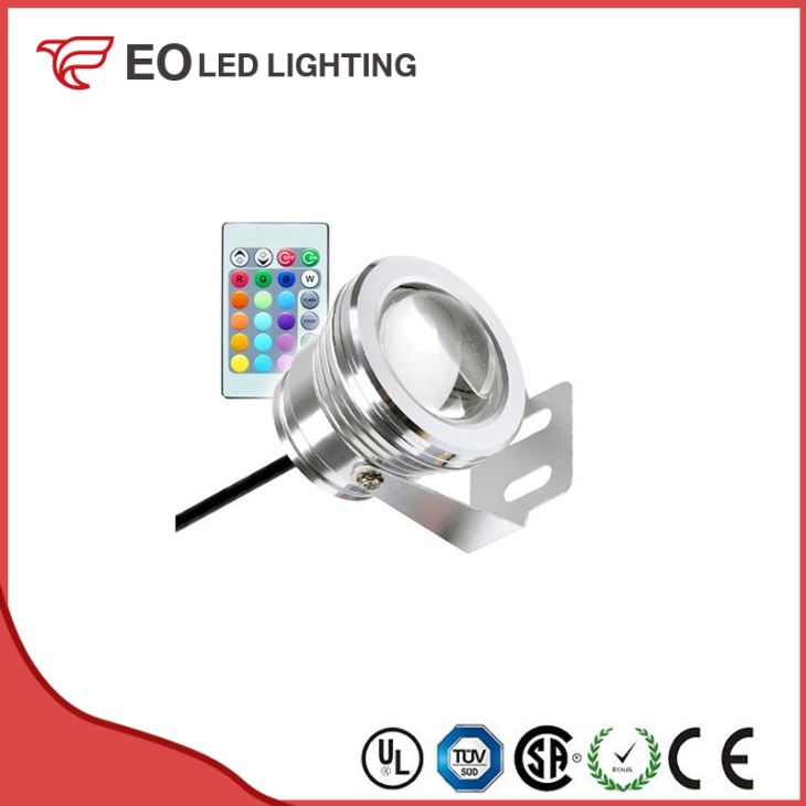 7W RGB LED Surface Garden Spotlight