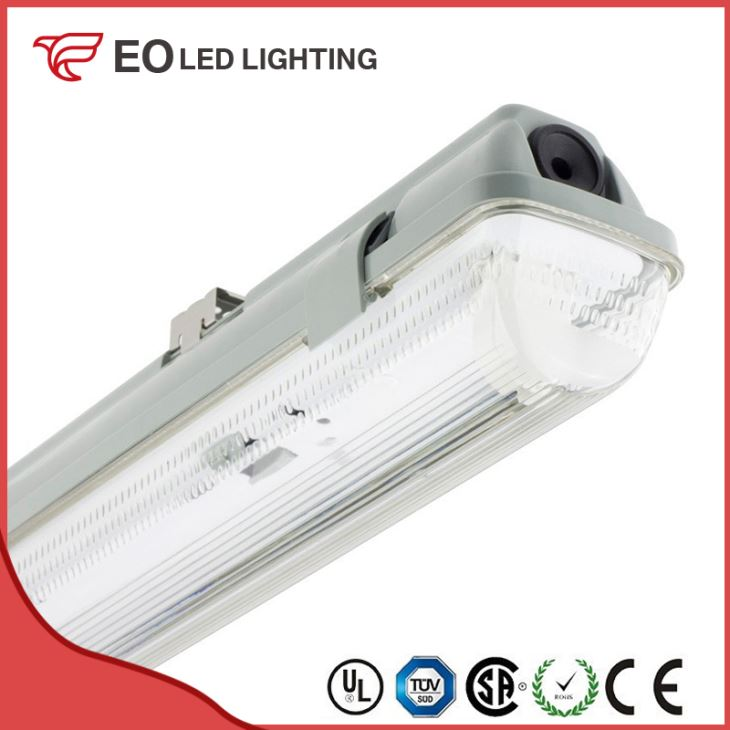 PC Tri-Proof Fixture for 1500mm LED Tubes