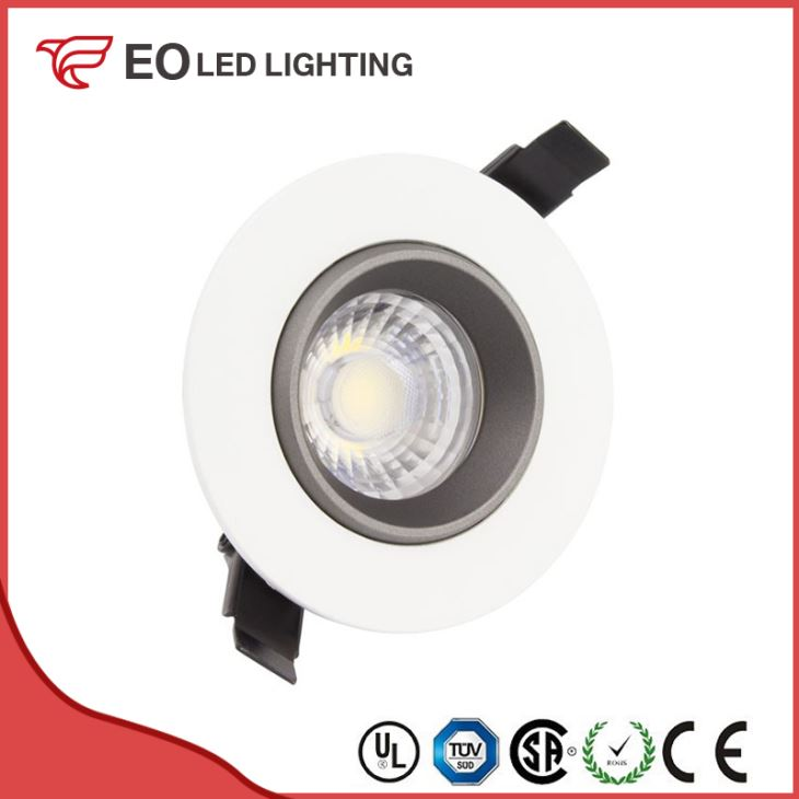Round Adjustable 18W COB LED Downlight