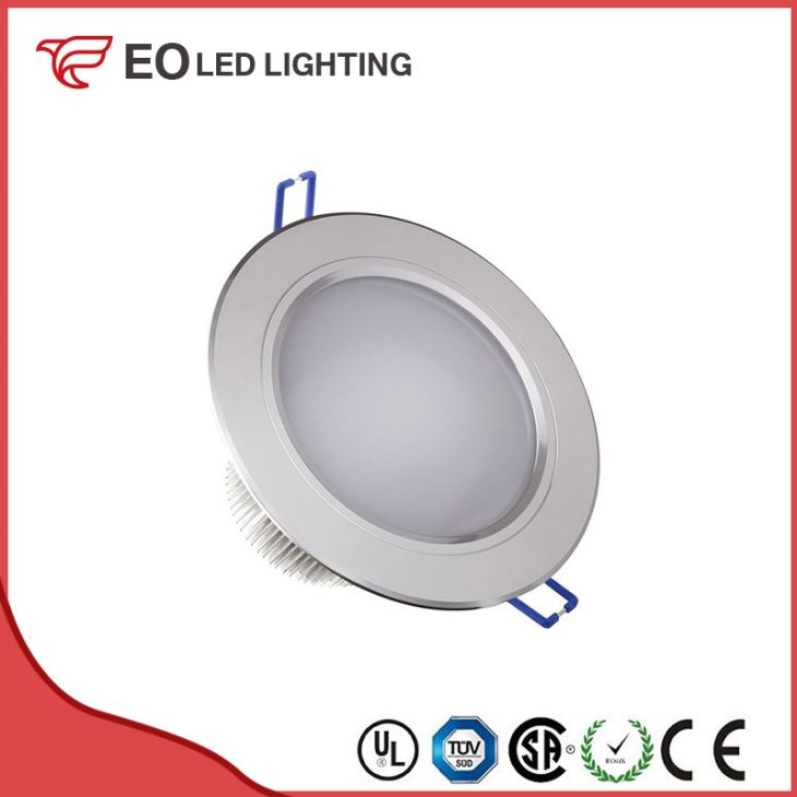 Round Translucent 12x1W LED Downlight