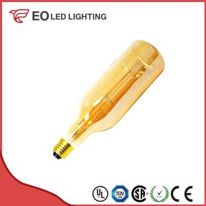 E27 7W LED Gold Bottle Filament Bulb