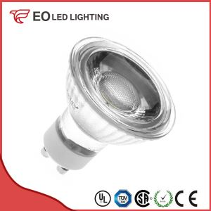 Glass GU10 5W COB LED Bulb