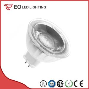 Glass GU5.3 MR16 5W 220V COB LED Lamp